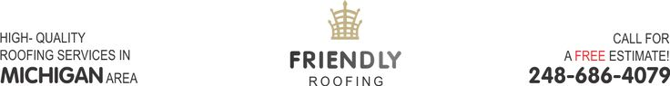 Friendly Roofing gives you beauty and service at a price you can afford. Once you decide upon our roofing company, we will want to set up an appointment to come and inspect your existing roof. This will allow us to decide what must be done and give you an accurate estimate of how much this will cost. Our professional roofers will not just give you a bottom number. We will itemize each cost and give you a full explanation of why this task or mater