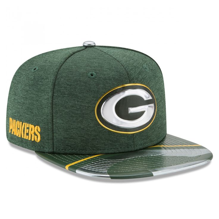 Green Bay Packers 2017 On-Stage Draft 9Fifty Cap at the Packers Pro Shop