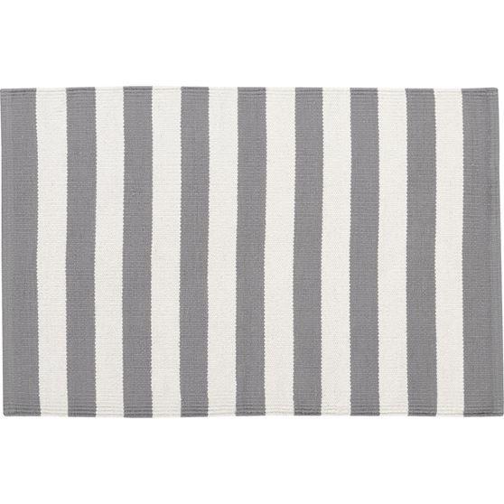Olin Grey Carpet 61x91cm 60tl