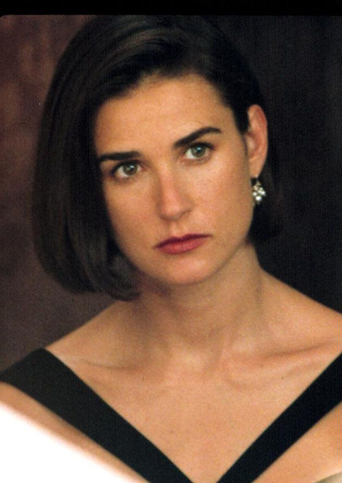 "Demi Moore en ""Una Proposición Indecente"" (Indecent Proposal), 1993"