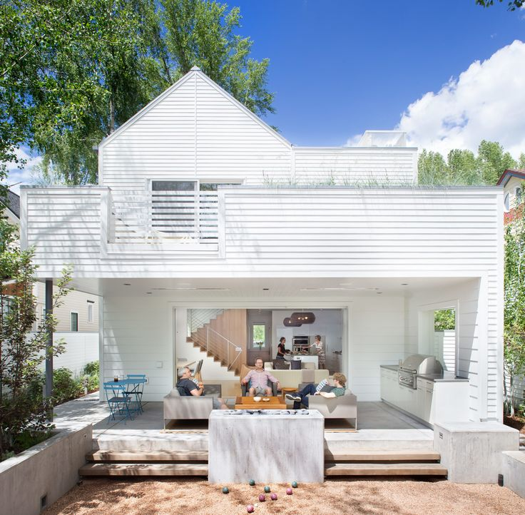 Having achieved LEED Gold certification for their Aspen property, Sarah Broughton and John Rowland use a Savant home automation system to monitor the house's efficiency, adjusting any elements that take up too much energy.