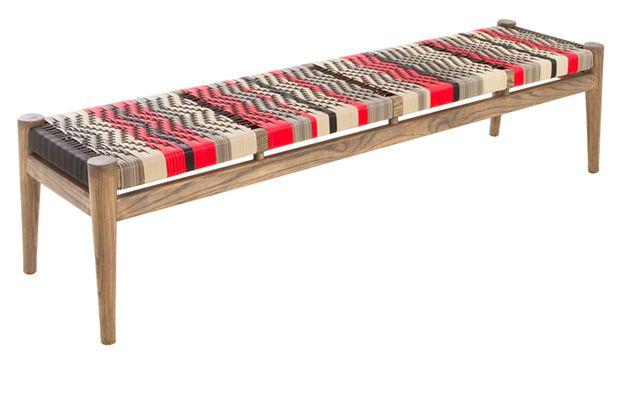 Nguni Outdoor Bench | product | vogel