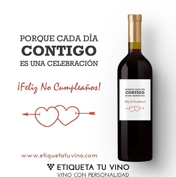 Llena tus momentos de sonrisas y sorprende a todos con los mejores Vinos personalizados. En tan solo 3 pasos, los mejores vinos y los regalos más originales todo en uno: 1- Entra en etiquetatuvino.com y selecciona tu Vino favorito y dale al botón personalizar 2- Selecciona tu etiqueta preferida de la galería de diseños 3- Recibe el Vino en 24hs en tu casa #vinoconpersonalidad #vinopersonalizado #regalosoriginales #feliznocumpleaños #regalos #vinos #vino #regalooriginal #regalosadomicilio