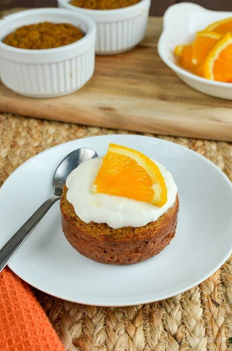 Treat yourself to a Mini Carrot and Orange Cake – a perfect treat and only 3 syns  FULL RECIPE: http://www.slimmingeats.com/blog/carrot-and-orange-cake
