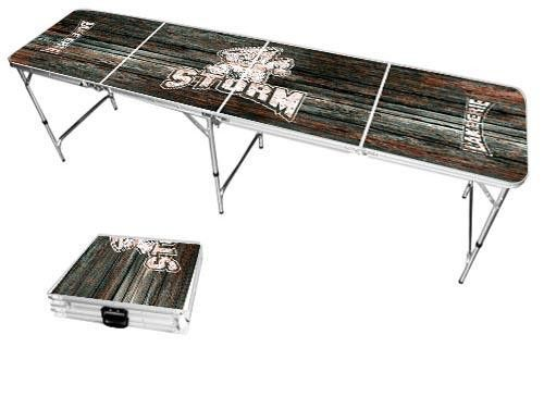 Lake Erie College Storm Weathered Folding Table