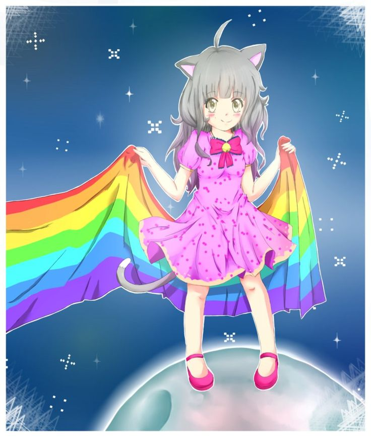 28 best images about nyan cat on pinterest nyan nyan - Google anime wallpaper ...