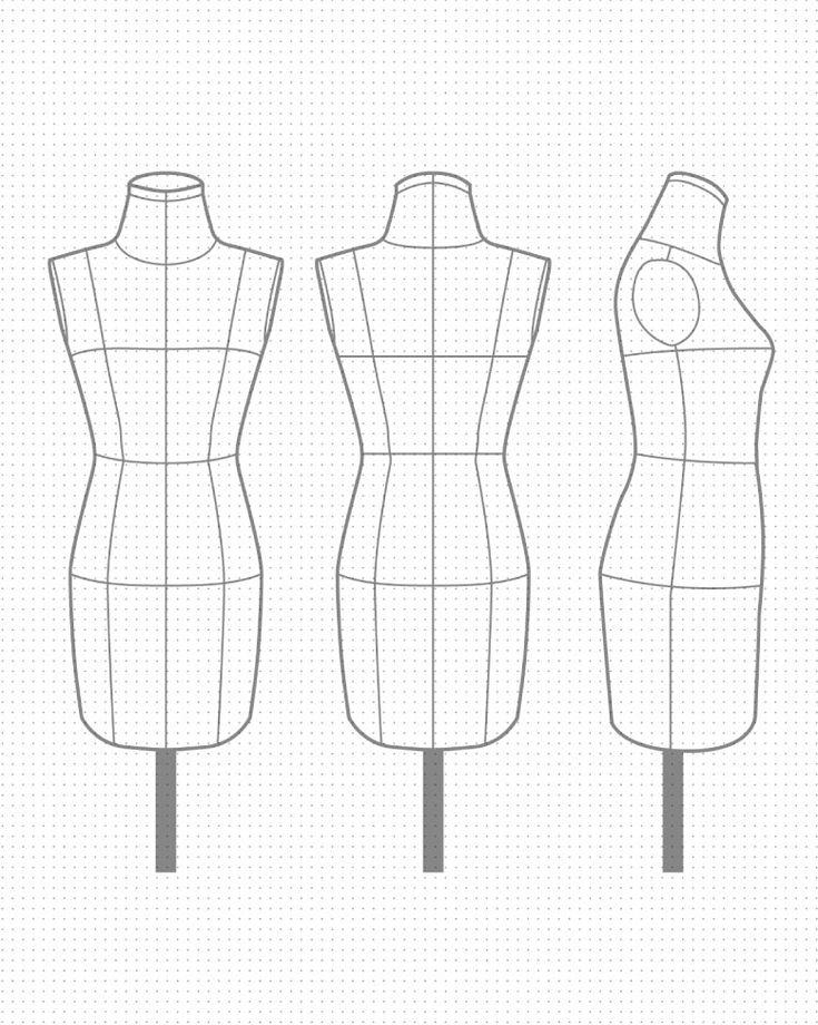 Las 25 mejores ideas sobre bocetos de dise o de moda en for Ideas para disenar ropa