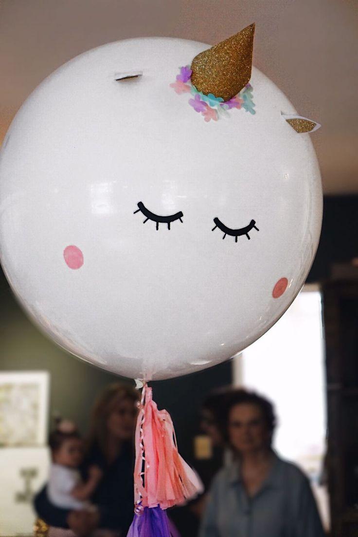 Unicorn huge balloon