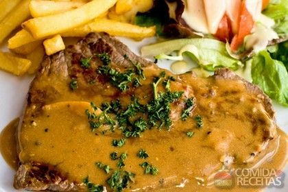 Receita de Filé ao molho de mostarda em receitas de carnes, veja essa e outras…
