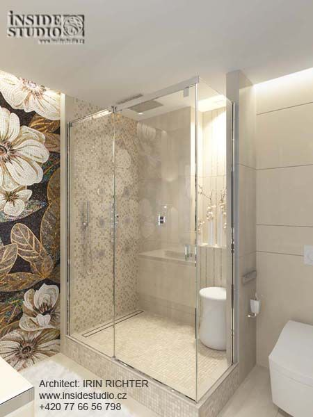 Дизайн интерьера ванной комнаты. Мюнхен. Architect: IRINA  RICHTER INSIDE-STUDIO PRAGUE