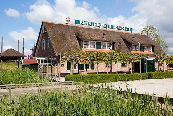 De nieuwe boerderij in Pannenkoekenboerderij De Hooiberg.