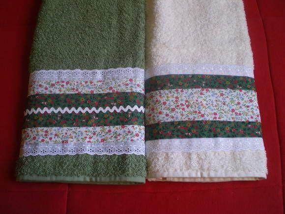 Toalha de lavabo (rosto), em patchwork, diversas técnicas, cores e combinações de tecidos. Consulte. Preço unitário.