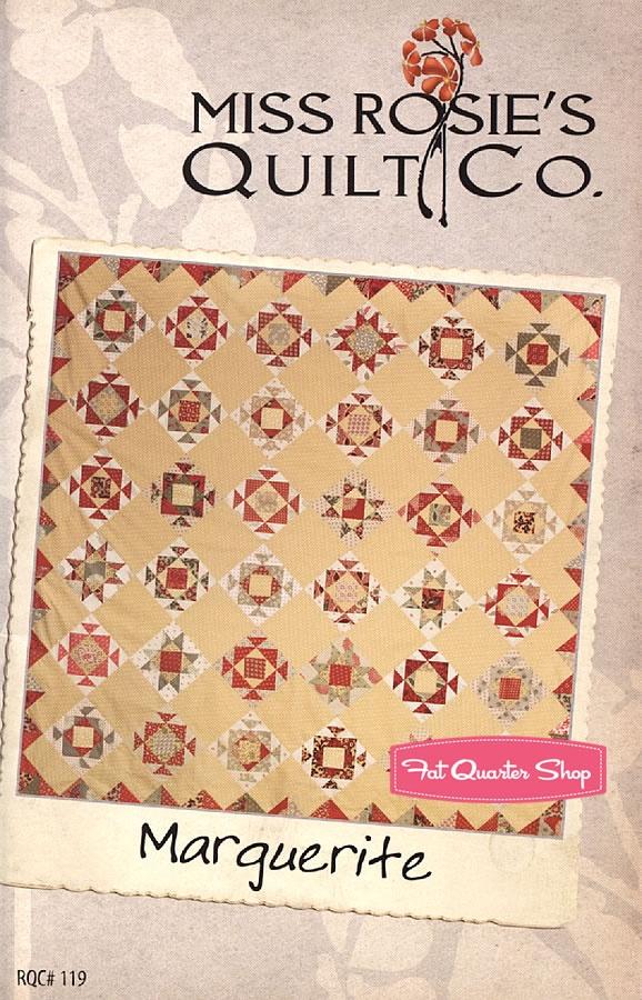 Marguerite Quilt Pattern Miss Rosie's Quilt Company - Fat Quarter Shop