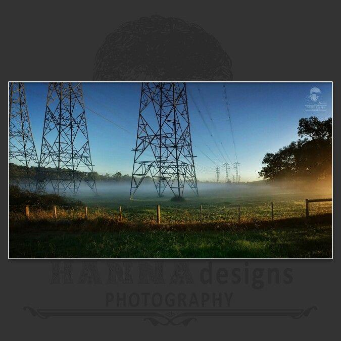 Foggy Sunrise  https://www.facebook.com/HannaDesignsPhotography  © 2012 - HANNAdesigns Photography - All rights reserved