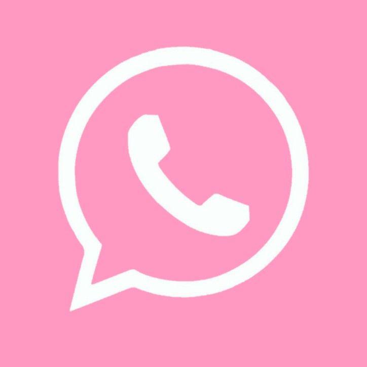 Whatsapp Pink Gambar Ikon Aplikasi Aplikasi Iphone
