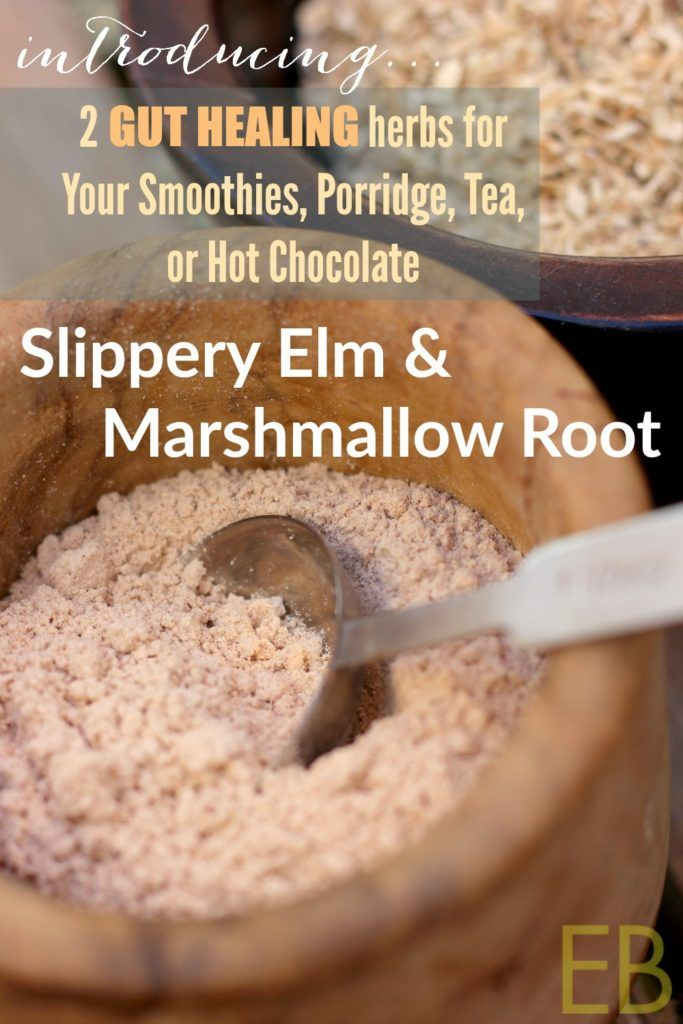 SLIPPERY ELM and MARSHMALLOW ROOT: 2 Gut-Healing Ingredients for Your Smoothies, Porridge, Tea, or Hot Chocolate - Eat Beautiful.