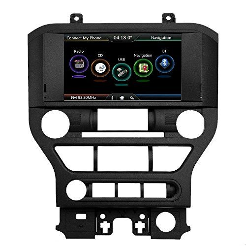 Docooler® Double-DIN 8 Inches 720P Touch Screen Car USB Video & Audio Player Receiver, GPS Navigation Unit for Ford Mustang 2015 with Free Map & Free Card. For product info go to:  https://www.caraccessoriesonlinemarket.com/docooler-double-din-8-inches-720p-touch-screen-car-usb-video-audio-player-receiver-gps-navigation-unit-for-ford-mustang-2015-with-free-map-free-card/