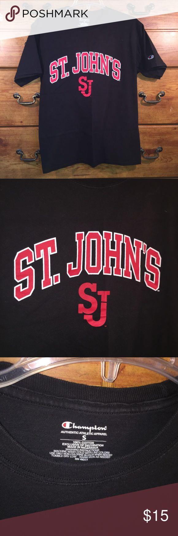 Champion st john s men s t shirt sz s
