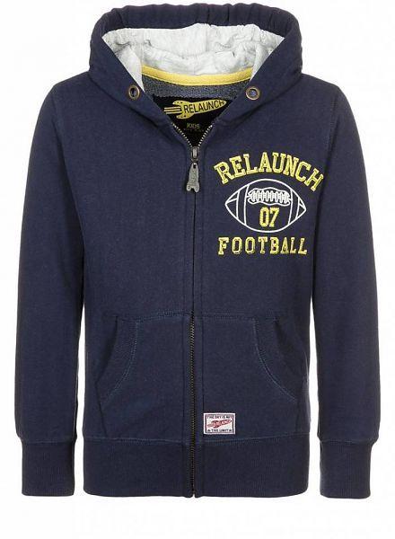 Relaunch Relaunch vest donker blauw Football