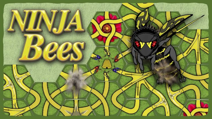Ninja Bees the Card Game project video thumbnail