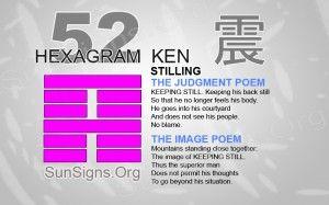 """52: 艮* - Ken """"Stilling"""""""