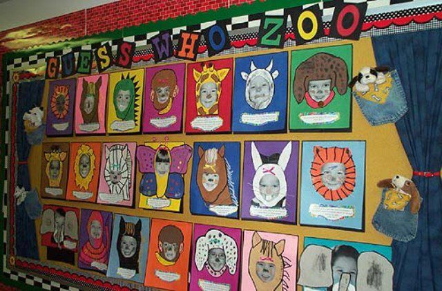 zoo open house kindergarten | Zoo Art Ideas http://www.myclassroomideas.com/guess-who-zoo-bulletin ...