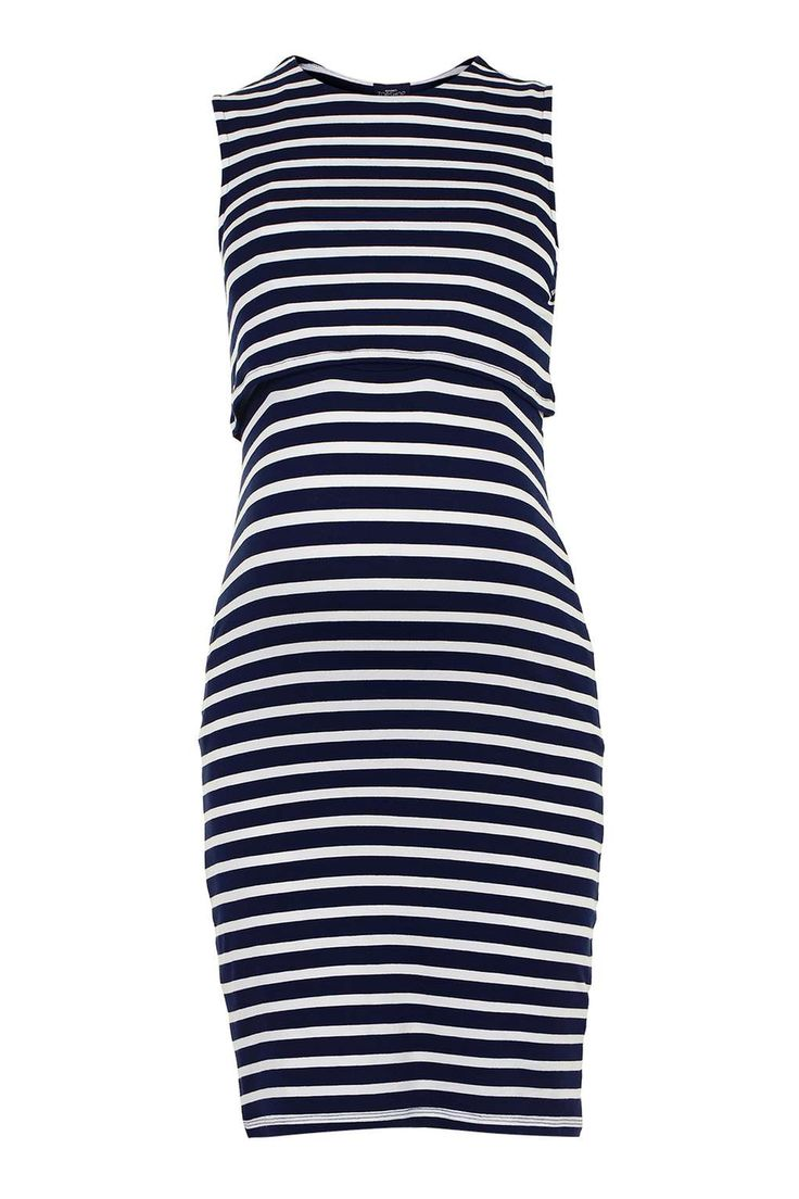 MATERNITY Stripe Nursing Dress - Maternity - Clothing - Topshop USA