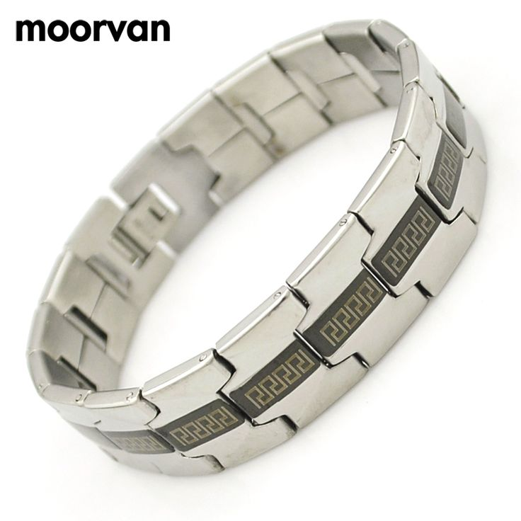 Sale Item ! stainless steel vintage bangle for men greek key jewelry punk 16mm wholesale accessory VB1146