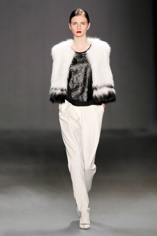 #Schumacher Fall-Winter 2013-2014 Collection #Trend Black & White