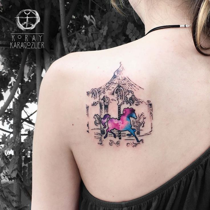 Beautiful, Vibrant Watercolor Tattoos By Koray Karagözler To Feed Your Ink Addiction
