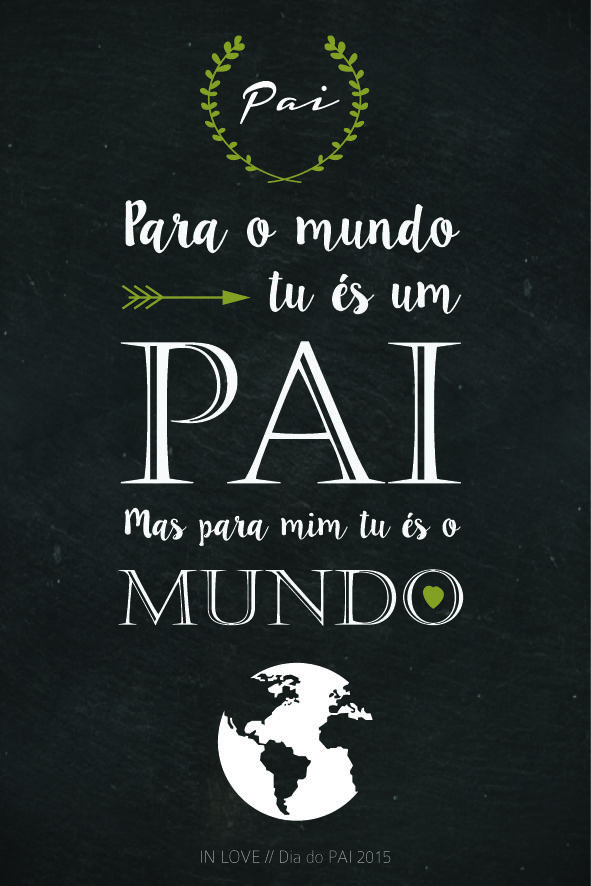 Dia do Pai com Amor // Free Printable // Mais