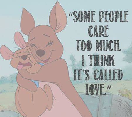 . . .Some people care too much. I think it's called Love. . .