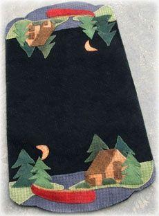 Free Wool Penny Rug Patterns   by Jan Mott Wool Applique Penny Rug & Punchneedle Patterns: Free Wool ...