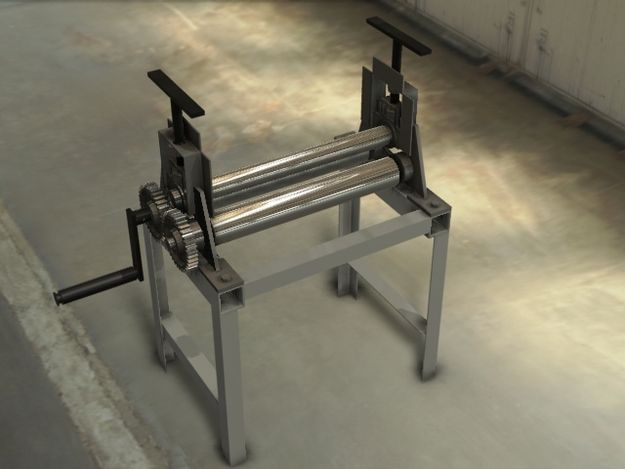Sheet Metal Bead Roller | Homemade Sheet Metal Roller
