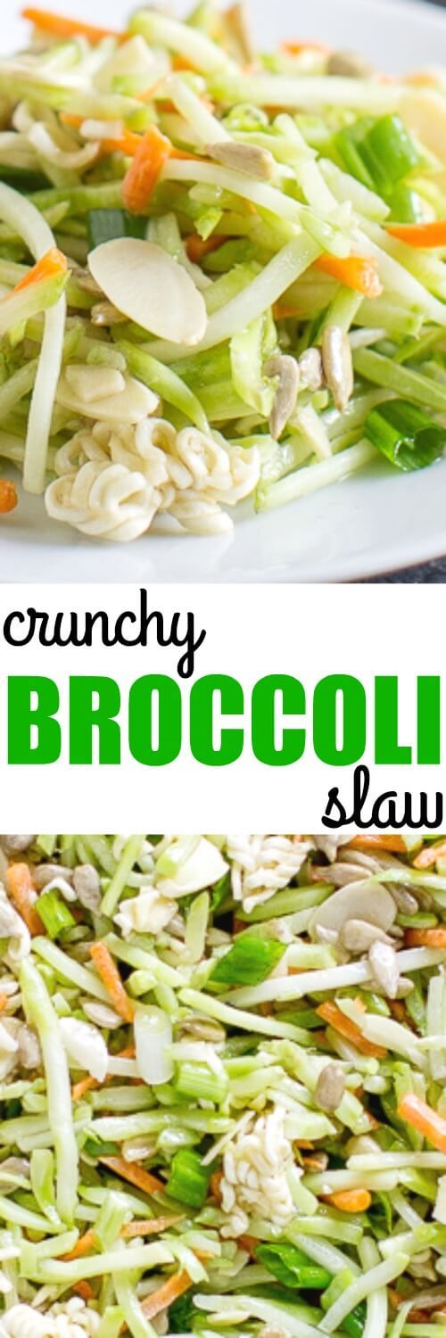 My family LOVES this Crunchy Broccoli Slaw! My friend Bobbi always makes it and it's just perfect for summer barbecues.