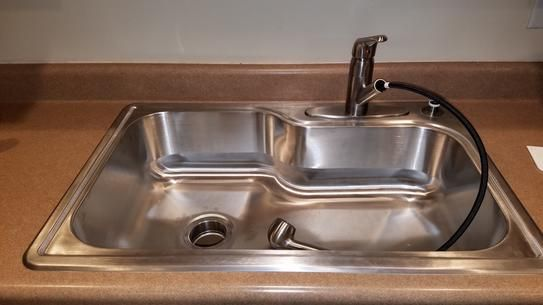 40 best images about kitchen sinks on pinterest satin - Glacier bay drop in bathroom sink ...