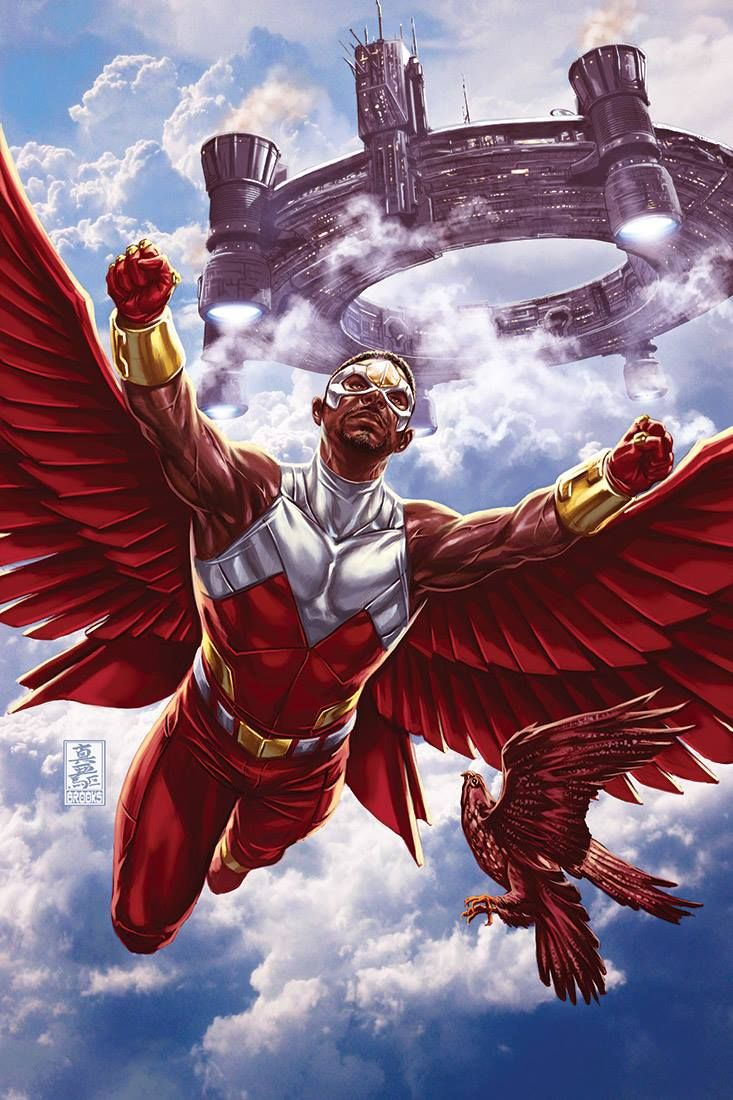 51 best images about falcon on pinterest the winter - Faucon avengers ...