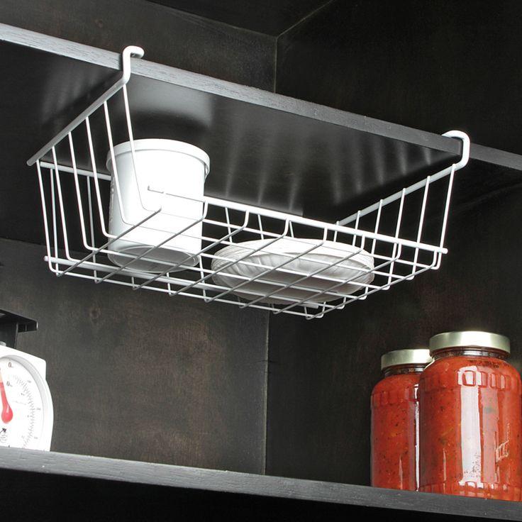 Una canasta ideal para ahorrar espacio en tu alacena.