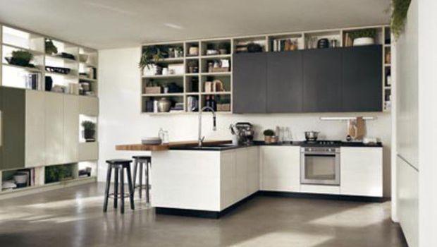 Scavolini cucine moderne: la nuova Motus, l'interconnessione tra ambiente cucina e area living