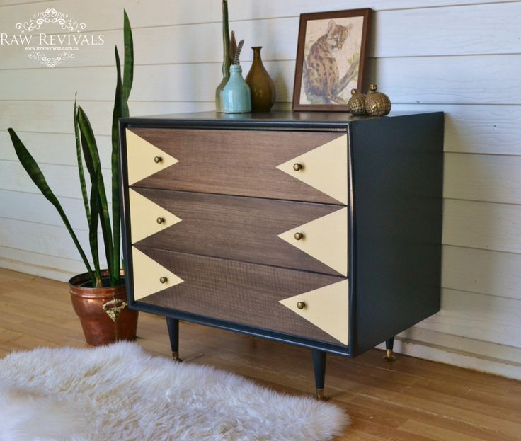 Painted Geometric Modern Credenza Sideboard on modern sideboard bookshelf, modern sideboard with mirror, modern sideboard kitchen, modern sideboard bar,