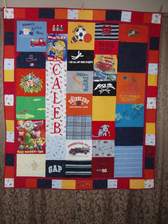 43 best Personalized baby Quilts images on Pinterest | Patchwork ... : personalized photo quilt - Adamdwight.com