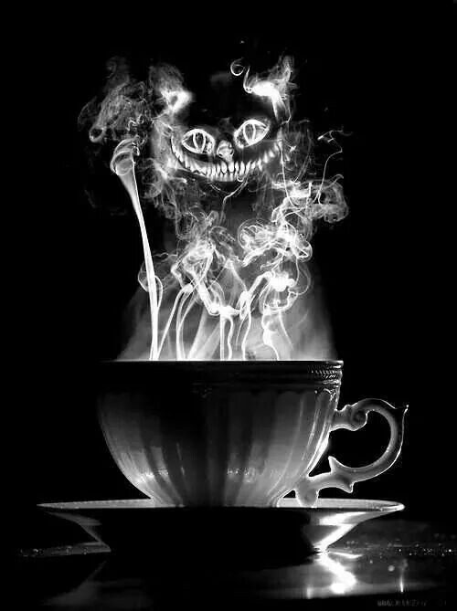 Evil Cheshire Coffee.