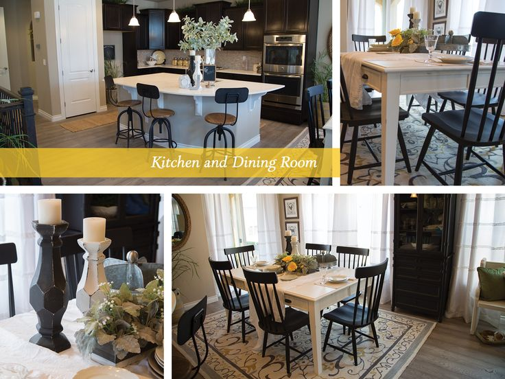 Farmhouse Fresh Kitchen Dining Room 2017 St Jude Dream Home In Colorado Springs