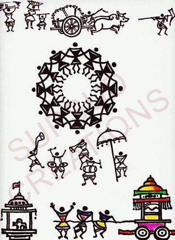 India folk art.