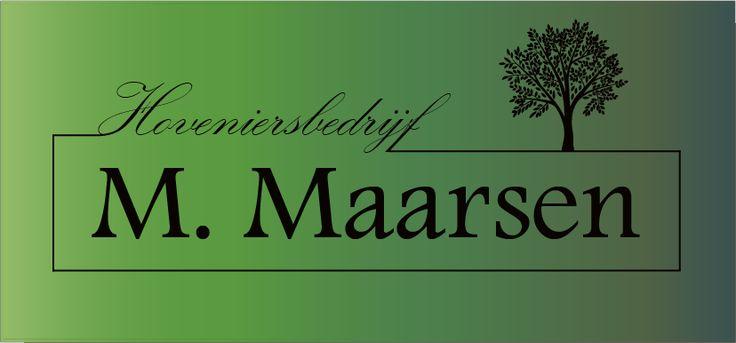 Hoveniersbedrijf M. Maarsen Uw specialist voor persoonlijke én kwalitatieve verzorging bij het aanleggen, renoveren en onderhouden van uw tuin, patio en balkon. Voor zowel particulieren als bedrijven in Aalsmeer en omgeving.
