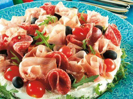 Italiensk smörgåstårta | Recept från Köket.se