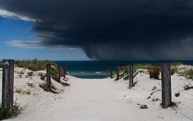 The Contest Corner Challenge #108: End of the Line Winning Photograph Is...   Storm Front by Paula!