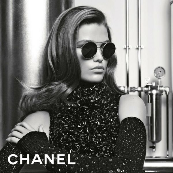 Photographed by Chanel's creative director Karl Largerfeld and modelled by the stunning Luna Bijil, the #Chanel 4232 sunglasses are provocative, luxurious and one of a kind. Be a proud owner of a pair of #Chanel #sunglasses today.