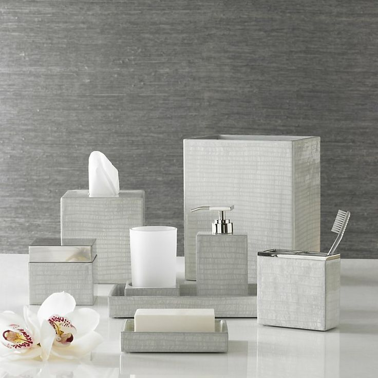 bathroom accessories sets silver. Luxury Bath Accessory Sets - Delano Accessories By Kassatex CassaDecor Bathroom Silver