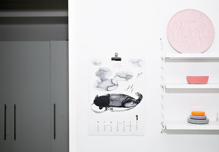"Calendar 15 in MUUTAMA HETKI. ""Hukka"" by Miia Puustinen"